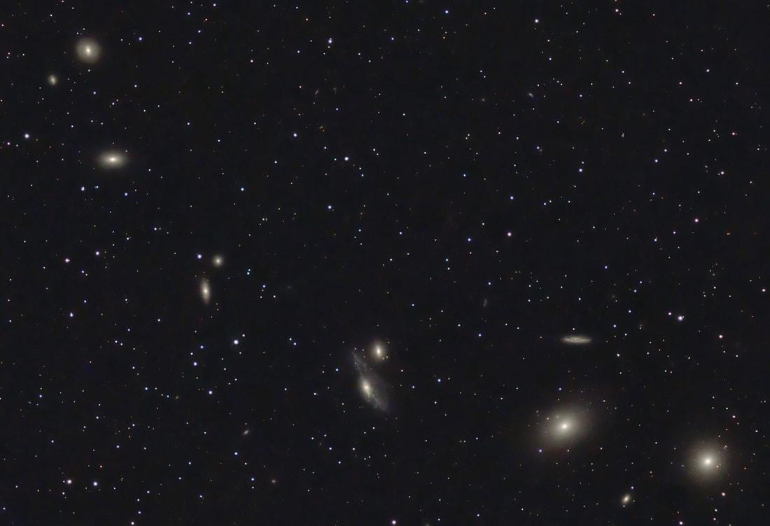 markarian's chain, markarian's galaxy chain