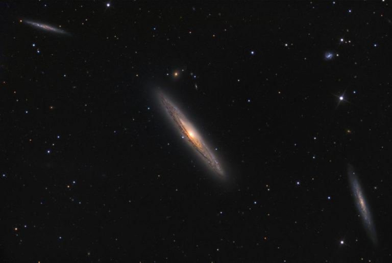 ngc 4222,ngc 4206,virgo cluster galaxies